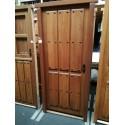 Puerta Cerezo exterior madera maciza