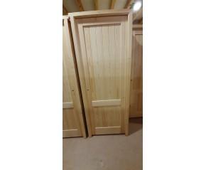 Puerta interior madera maciza