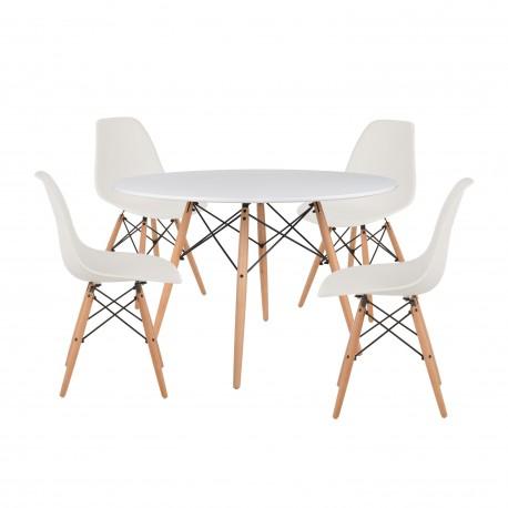 Mesa estilo escandinavo