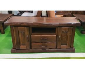 Mueble tv castaño