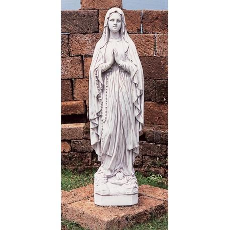 Estatua virgen